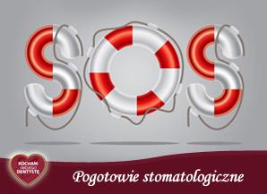 <span>P – jak POGOTOWIE STOMATOLOGICZNE</span> = S.O.S., czyli pierwsza pomoc w nagłych wypadkach